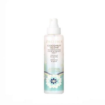 Pacifica Coconut Glow Shimmering Hair And Body Mist - 5 floz  - US