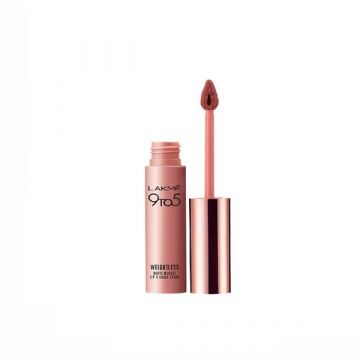 Lakme 9-5 Liquid Lip Color -  Coffee Lite 9g - 8901030601781