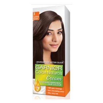Garnier Color Naturals No. 3 Dark Brown - 0372 - 8964000462249
