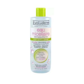 Evoluderm Micellar Cleansing Water Combination Skins - 100ml