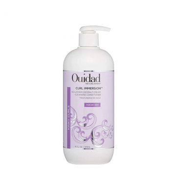 Ouidad Curl Immersion No-Lather Coconut Cream Cleansing Conditioner - 475ml - 97416