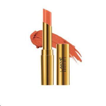Lakme Absolute Argan Lip Color- Dewy Orange - 8901030629020