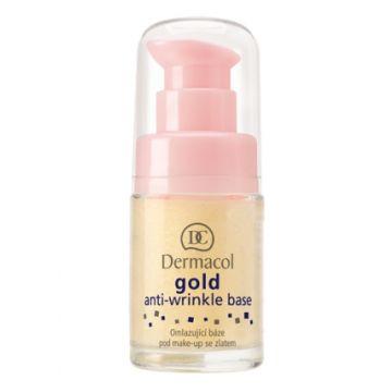 Dermacol Gold Anti Wrinkle Makeup Base - 15ml