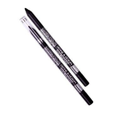 Define & design double black eye liner