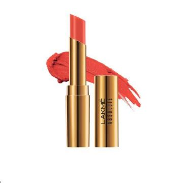 Lakme Absolute Argan Lip Color- Drenched Red - 8901030629051