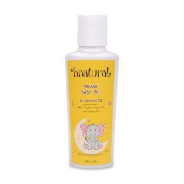 Bnatural Baby Oil With Argan, Jojoba, Chamomile & Grape Seed Oil - 100ml