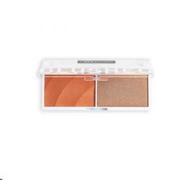 Makeup Revolution Relove Colour Play Blushed - Duo Queen