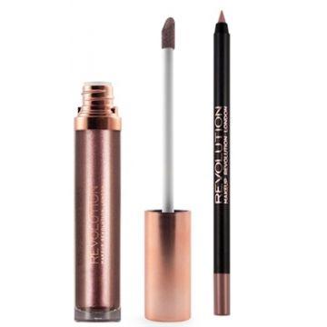 Makeup Revolution Retro Luxe Kits Metallic - Dynasty