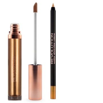 Makeup Revolution Retro Luxe Kits Metallic - Empress