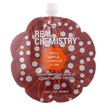 Real Chemistry Environmental Rescue Essential Day Cream (.33oz/10ml) - MB