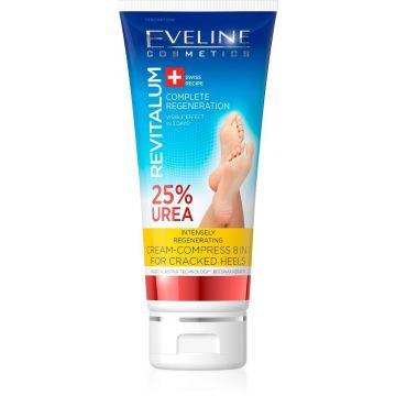 Eveline Cream-Compress 8 in 1 for Cracked Heels 25% Urea 100ml - J4g