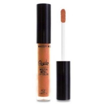 Rude Molten Metal Lip Color - 75036 Extreme Sunburn