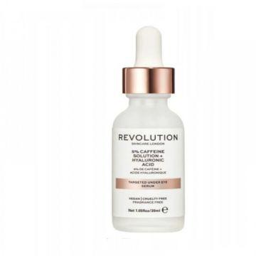 Makeup Revolution Skincare Targeted Under Eye Serum - 5% Caffeine 30ml
