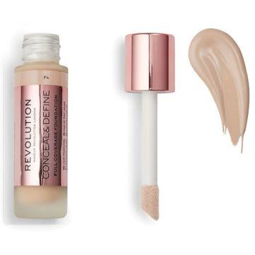 Makeup Revolution Conceal & Define Foundation - F4