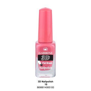 Gabrini 3D Nail Polish # 10 13ml - j4g