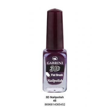 Gabrini 3D Nail Polish # 45 13ml - j4g