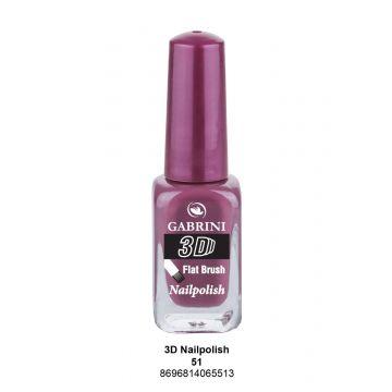 Gabrini 3D Nail Polish # 51 13ml - j4g