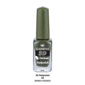 Gabrini 3D Nail Polish # 60 13ml - j4g