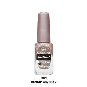 Gabrini Brilliant Nail Polish # 01 13gm - j4g