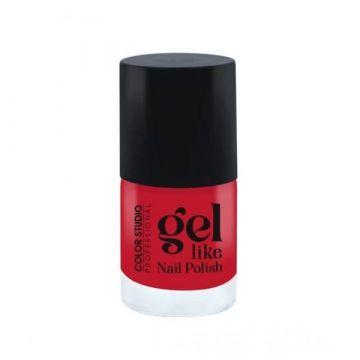 Color Studio Gel Like Nail Polish - 17 Red Devil