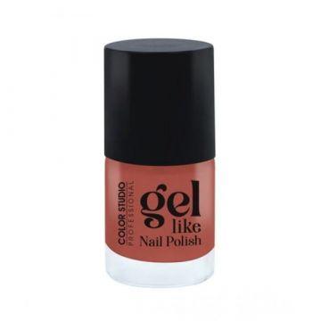 Color Studio Gel Like Nail Polish - 36 Red Brick
