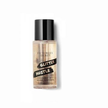 Victoria's Secret Glitter Hustle Fragrance Mist (24K Caramel, Vanilla Kiss, Night Fever) (75ml/2.5oz) - US