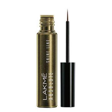 Lakme Lakme Absolute Shine Line Eye Liner, Liquid Gold - 4.5ml - 8901030601859