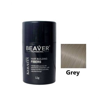 Beaver Hair Building Fiber White - 12gm - HBFG01