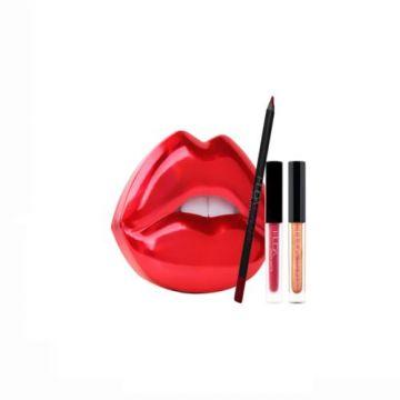 HudaBeauty Lip Contour Set - Heartbreaker | Shameless - US