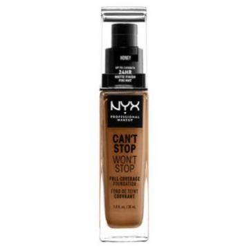 Nyx Can't Stop, Won't Stop Foundation - Honey (CSWSF15.8)