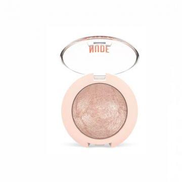 Golden Rose Nude Look Pearl Baked Eyeshadow - 01 Ivory