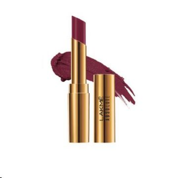 Lakme Absolute Argan Lip Color- Juicy Plum - 8901030628948