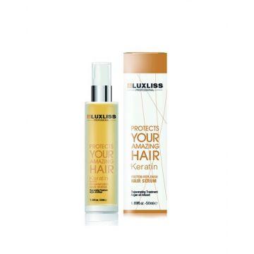 Luxliss Keratin Protein Replenish Hair Serum Volume - 50ML