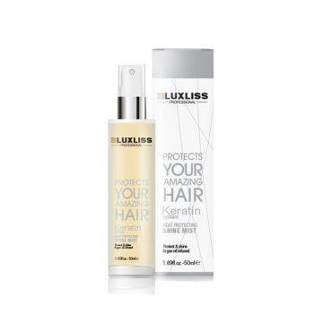 Luxliss Keratin Heat Protecting Shine Mist Volume 50ML