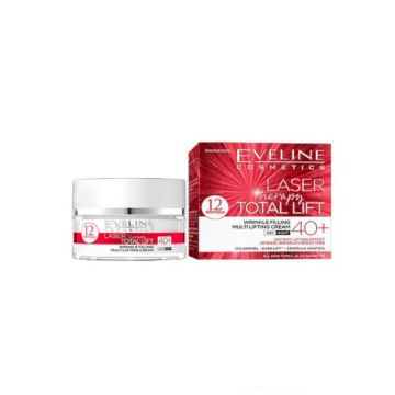 Eveline Laser Therapy Total Lift Wrinkle Filling Multi Lifting 40+ - J4g