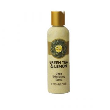 SL Basics Lemon & Green Tea Scrub - 200ml