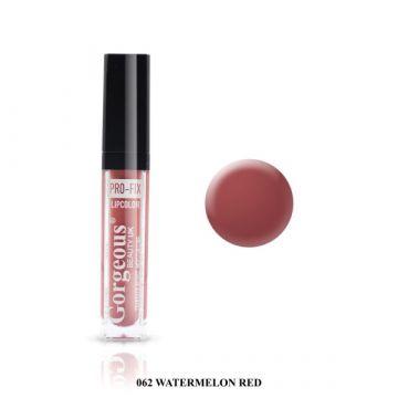 Gorgeous Pro Fix Lipgloss - 062 Watermelon Red
