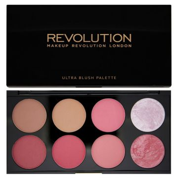 Makeup Revolution Ultra Blush And Contour Palette - Sugar And Spice