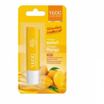 VLCC Lip Shield Balm Mango SPF10 - 4.5gm