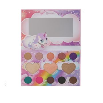 BH Cosmetics Marvycorn Color Shadow & Highlighter Palette - US