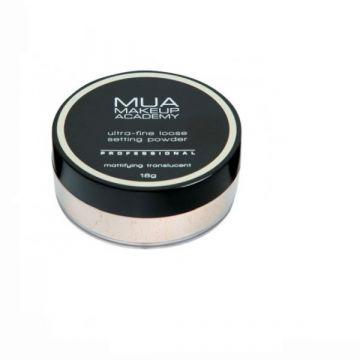 MUA Ultra Fine Loose Setting Powder Mattifying Translucent
