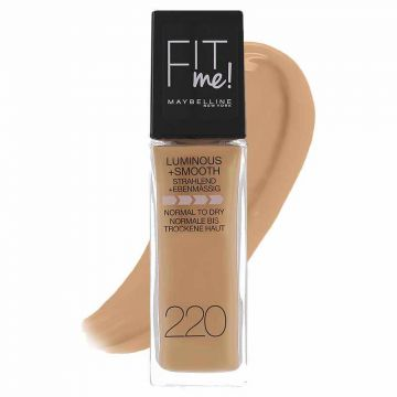 Maybelline Fit Me Luminous + Smooth Foundation - 220 Natural Beige