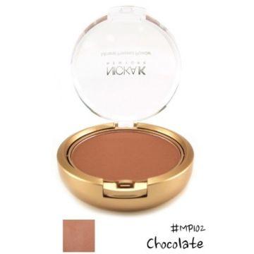 Nicka K Mineral Pressed Powder - MP102 Chocolate