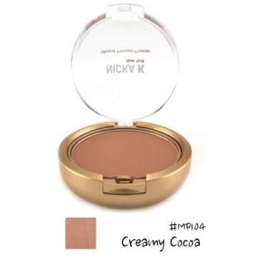 Nicka K Mineral Pressed Powder - MP104 Creamy Cocoa