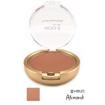 Nicka K Mineral Pressed Powder - MP105 Almond