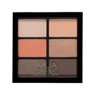 MUA pro 6 shade palettes - coral delights