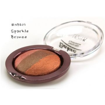 Nicka K Baked Terracotta Eyeshadow - NBE03 Sparkle Bronze
