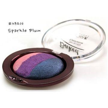 Nicka K Baked Terracotta Eyeshadow - NBE06 Sparkle Plum