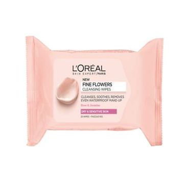 L'Oreal Paris Rare Flowers Cleansing Wipes Normal/Combination Skin - 1079