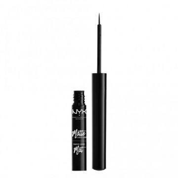 NYX Cosmetics Matte Liquid Liner - MLL01 Black